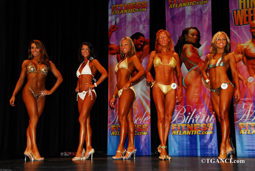 Ganci Fitness Atlantic Finals Figure Bodybuilding Contest 2007