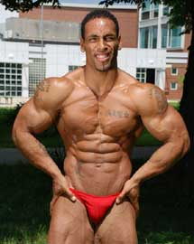 Bodybuilding Outdoor Flexing Fitness Studio Show Photos