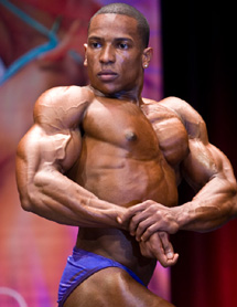 Jermaine Morgan Cleaning House in Mens Bodybuilding