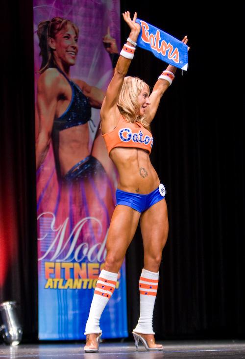Finals Modeling Fitness Sportswear Modeling - Go Gators
