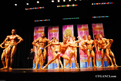 Fitness Atlantic Pageant Figure Bodybuilding Contest 2007