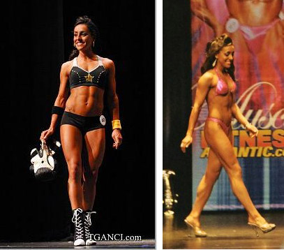 Julina Moore Bikini Model. More Fitness Atlantic Bikini Competitors