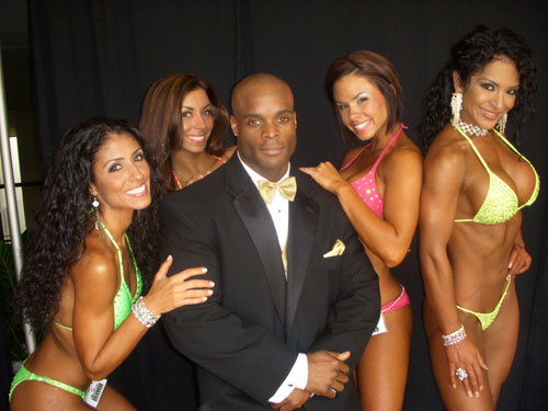 Morris Mendez at the Miami Superbody Musclemania 2008