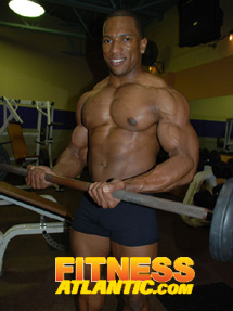 Bodybuilder Jermaine Morgan