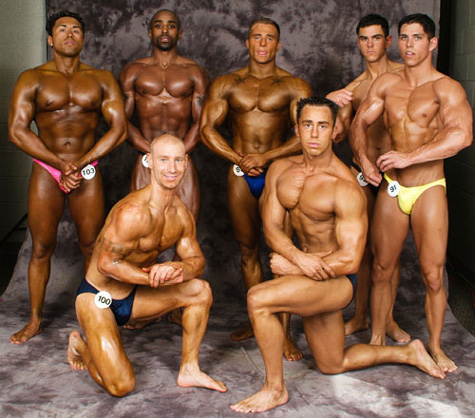 Bodybuilding Fitness Studio contest photos