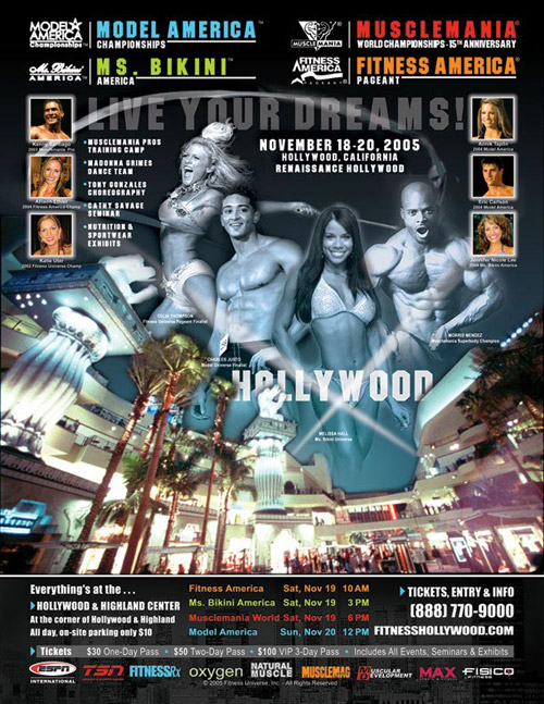 2005 Wold Championships Musclemania