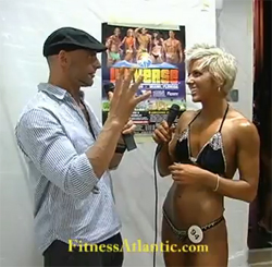 2009 Fitness Atlantic Interview Video Clips