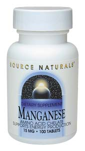Manganese Facts and Information