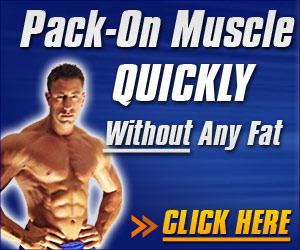 Pack on muscle quickly