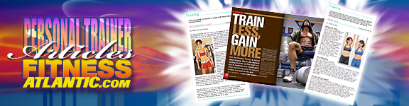 Personal Training Articles