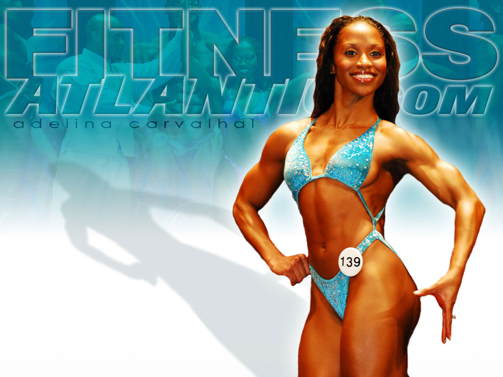 Adelina Fitness Competitor Wallpaper