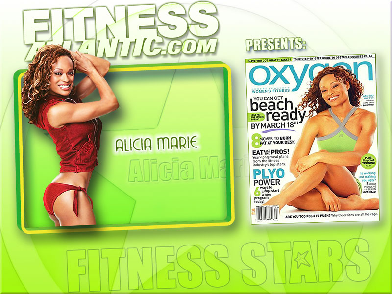 alicia Marie Fitness Competitor Wallpaper