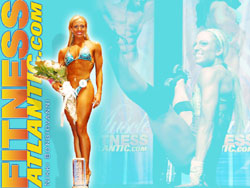 2007 Fitness Atlantic Wallpaper of Nikkie B