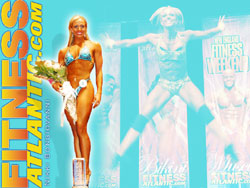 2007 Fitness Atlantic Wallpaper of Nikkie Bongiovanni